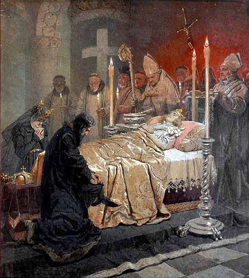 Szent Imre herceg halála