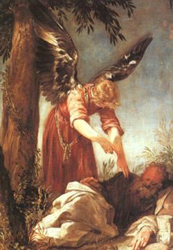 Illés próféta és az angyal